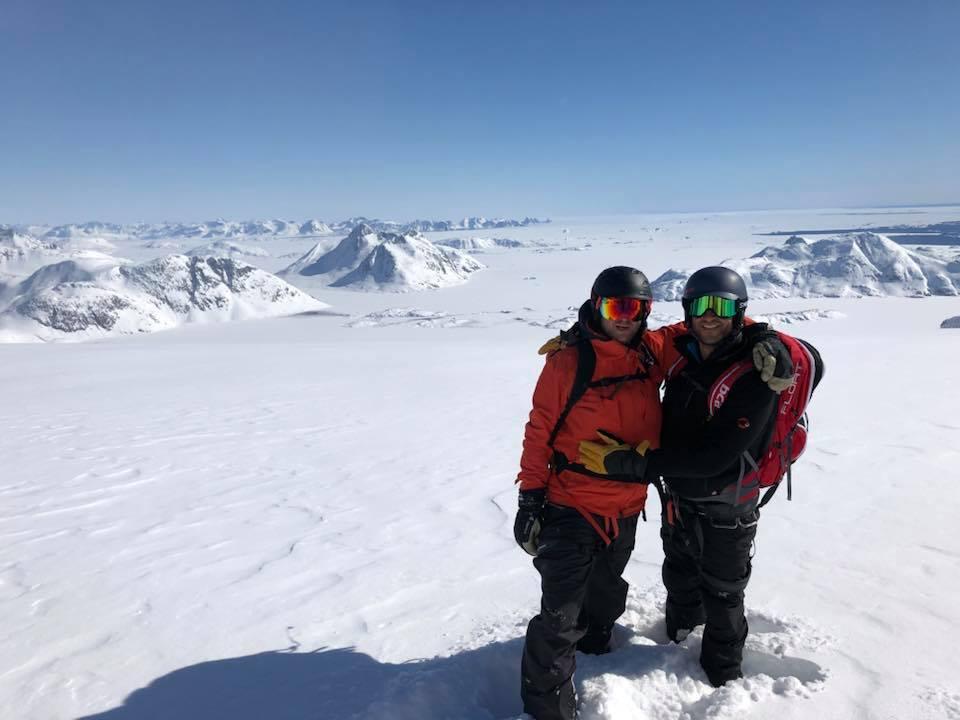 2 mannen in Groenland